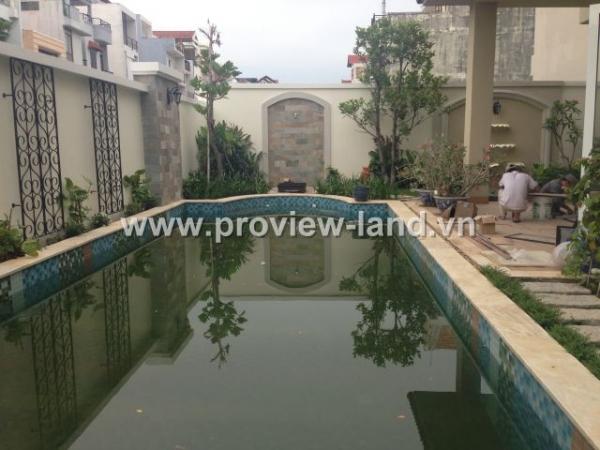 Bán biệt thự Thảo Điền Q2, 1800m2 đường Nguyễn Văn hưởng