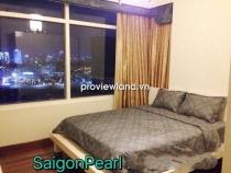 Cho thuê căn hộ cao cấp tầng cao 100m2 - 3 PN Saigon Pearl tòa Ruby view khu biệt thự