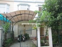House for rent in District 7 near My Thai 2 Villas 250sqm 3BRs with terrace unfurnished