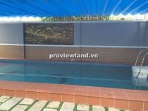 Bán biệt thự Thảo Điền 460m2 5PN  hồ bơi rộng thiết kế sang trọng