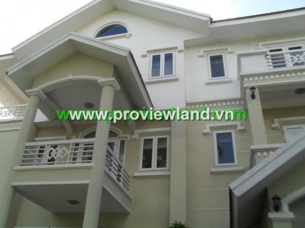 Saigon River view Villa in District 2 for sale-1000 Sqm