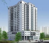 Office building for sale on Phan Đăng Lưu street, Phú Nhuận district, area 10x35m 1 base - 8 floor
