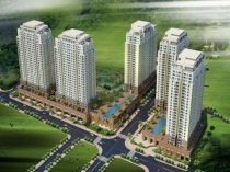 Tropic Garden apartment for sale, river view, small size, easy for lease.