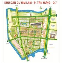 Bán 2 Lô đất liền kề góc 2 mặt tiền đường tại Him Lam DT 387.5m2 đối diện công viên