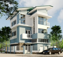 Sales Tran Nao Villa, Area: 350m2, swimming pool - garden