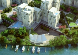 Apartment for rent in Diamond Island, beautiful view